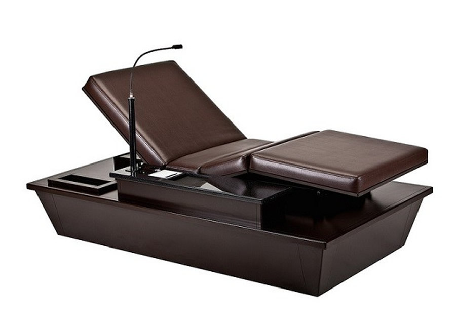 living earth crafts experience lounger spa tables spa. Black Bedroom Furniture Sets. Home Design Ideas