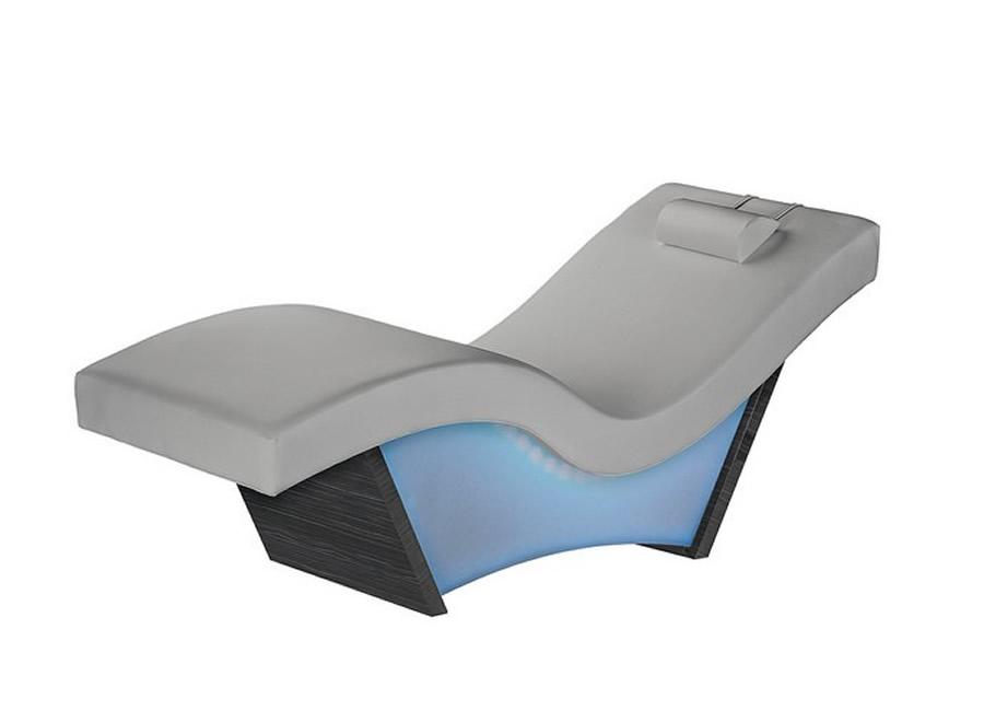 living earth crafts wave glow lounger spa tables spa. Black Bedroom Furniture Sets. Home Design Ideas