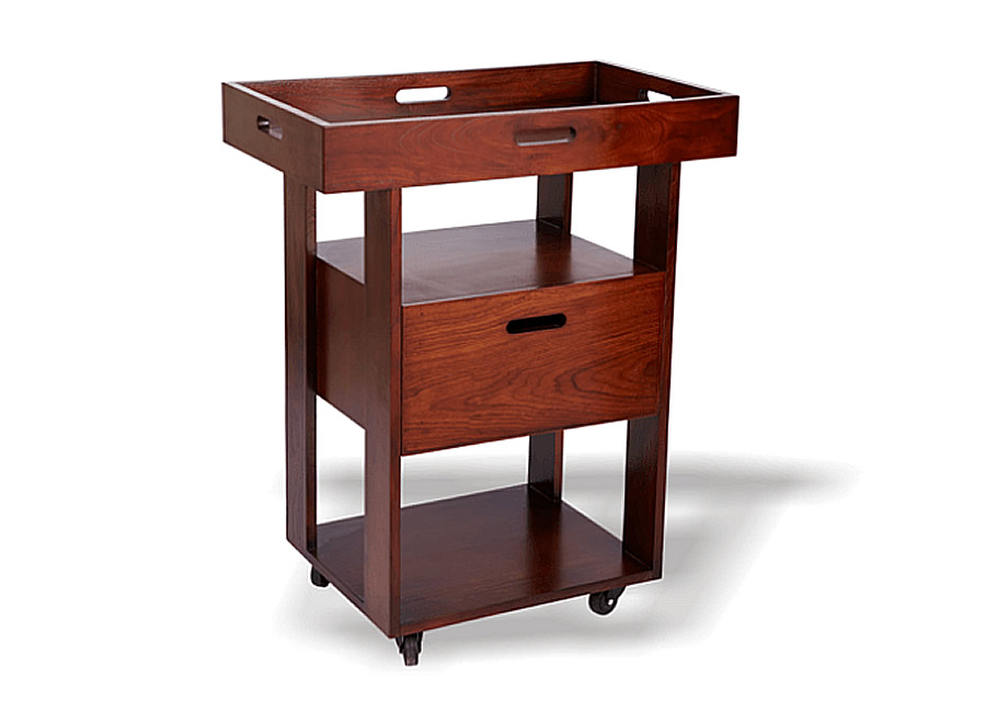 Kumkum Wooden Spa Trolley Spa Tables Amp Spa Equipment