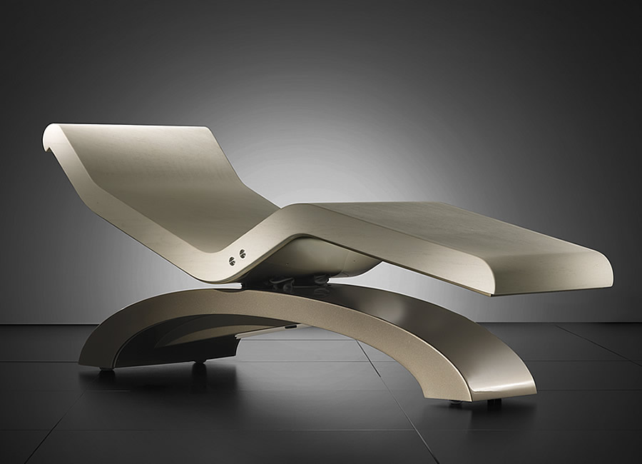 Cleopatra Classico Limestone Infrared Heated Lounge Chairs